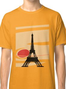 Jupiter and Eiffel Tower Classic T-Shirt