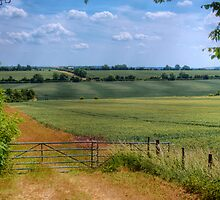 View of Rural Oxforshire - Oxfordshire, United Kingdom by Mark Richards