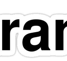 strand Sticker
