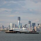 space shuttle enterprise/manhattan; 6/3/2012 by Kevin Koepke