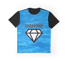 Diamond poster pool Graphic T-Shirt