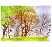 spring canvas.. Poster