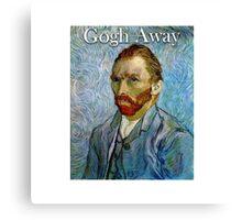 Gogh Away Canvas Print