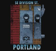 SE Division St. Portland, Or. by Keith Farris