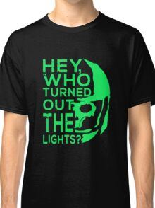 Doctor Who - Who turned out the lights Classic T-Shirt