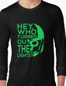 Doctor Who - Who turned out the lights Long Sleeve T-Shirt