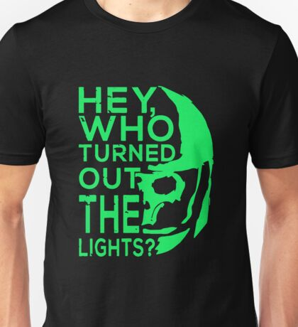 Doctor Who - Who turned out the lights Unisex T-Shirt