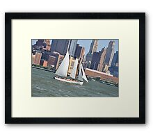 Canal St in Tribeca Framed Print