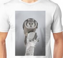 Northern Hawk-Owl Unisex T-Shirt