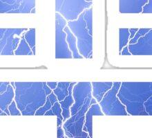 Lightning Kanji (Kaminari) Sticker