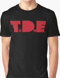 TDE - Red Graphic T-Shirt
