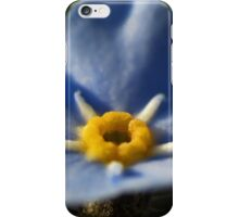 Forget-Me-Nots 2 iPhone Case/Skin