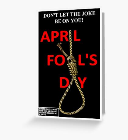 April Fool's Day Greeting Card