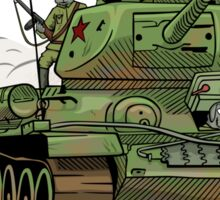 The Dogs of War: T34 Sticker
