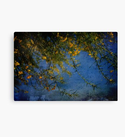 Just To Have You Here Today Canvas Print