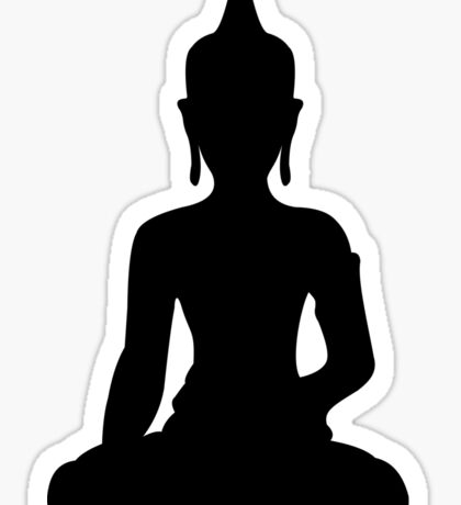 Simple Buddha Sticker