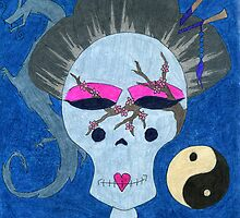 Asian Sugar Skull by scifigoofy
