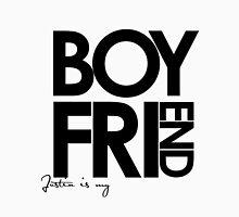 Justin Is My Boyfriend (Black) Unisex T-Shirt