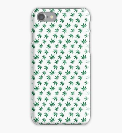 Really Really Small Weed Leafs iPhone Case/Skin