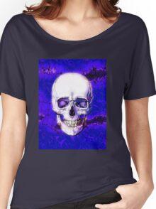 Smiling Skull Women's Relaxed Fit T-Shirt