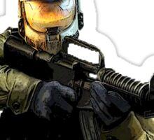 Halo Strike Sticker