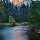 Half Dome Sunset - HDR by Stephen Beattie