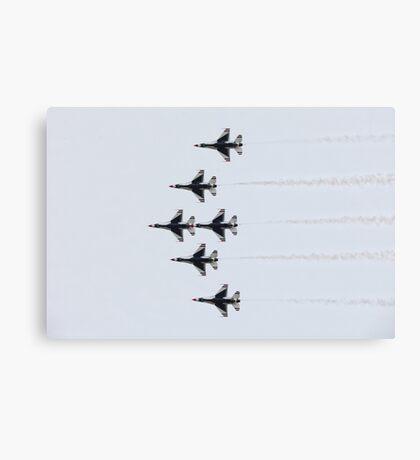 Air Force Thunderbirds Canvas Print