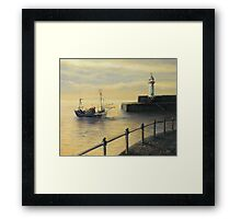 Memories of The Old Lighthouse Framed Print