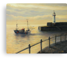 Memories of The Old Lighthouse Canvas Print