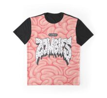 FBZ White on Brain  Graphic T-Shirt