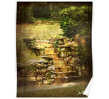 Stone Stairs in Birmingham 2 Poster
