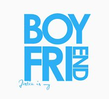 Justin Is My Boyfriend (Blue) Unisex T-Shirt