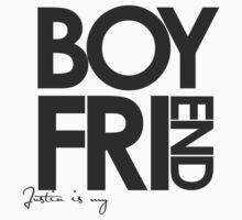 Justin Is My Boyfriend (Dark Grey) by ElleeDesigns