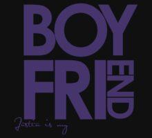 Justin Is My Boyfriend (Purple) Kids Clothes