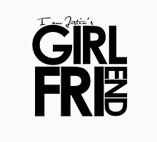 I Am Justin's Girlfriend (Black) Unisex T-Shirt