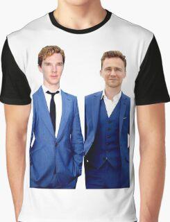 Benedict Cumberbatch and Tom Hiddelston Graphic T-Shirt