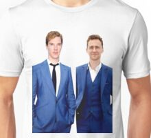 Benedict Cumberbatch and Tom Hiddelston Unisex T-Shirt