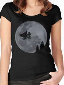 Escaping to the Dark Side Women's Fitted Scoop T-Shirt