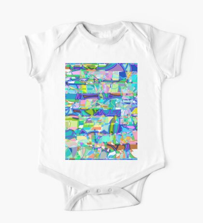 1100 Abstract Thought One Piece - Short Sleeve