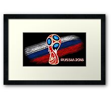 Russia 2018, Fifa World Cup soccer competition Framed Print
