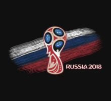 Russia 2018, Fifa World Cup soccer competition Baby Tee