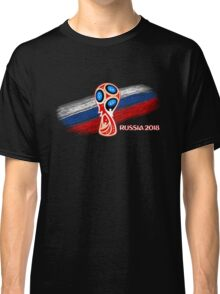 Russia 2018, Fifa World Cup soccer competition Classic T-Shirt