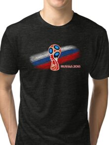 Russia 2018, Fifa World Cup soccer competition Tri-blend T-Shirt