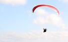 Paragliding 003 by Karl David Hill