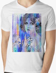 Clara Bow:  I'll See You In New York Mens V-Neck T-Shirt
