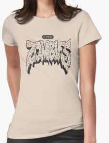 FBZ Black on White  Womens Fitted T-Shirt