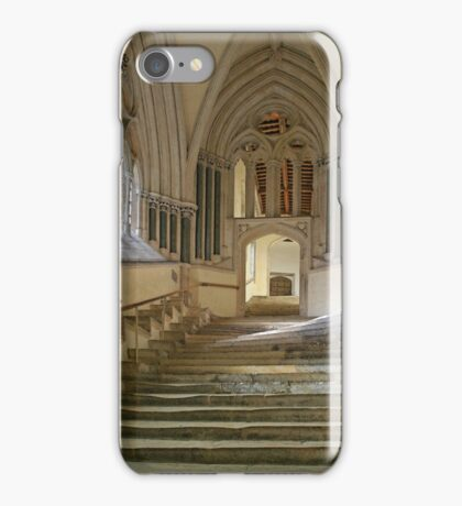 Chapter House Steps iPhone Case/Skin