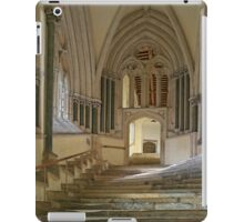 Chapter House Steps iPad Case/Skin