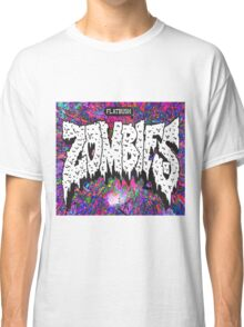 FBZ purple splatter background Classic T-Shirt