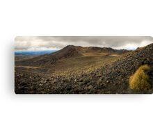 Volcanic Paradise, Mt Tongariro Canvas Print